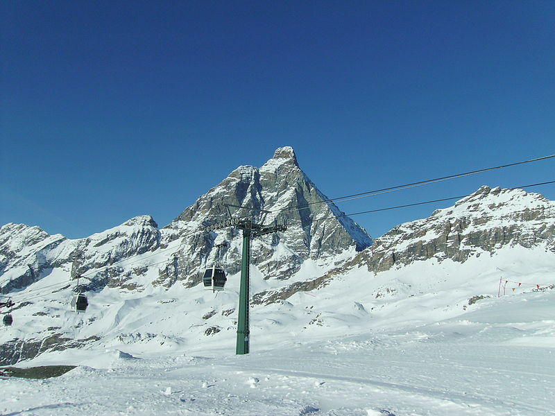 Imagine despre cervinia