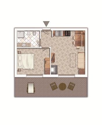 Imagine despre Apartament club ponte di legno