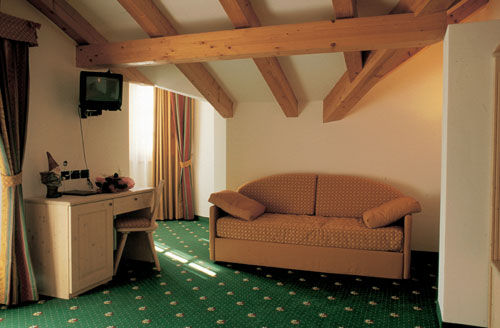 Imagine despre hotel sasso rosso camera 2